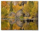 Lundy Lake Reflective Sunrise