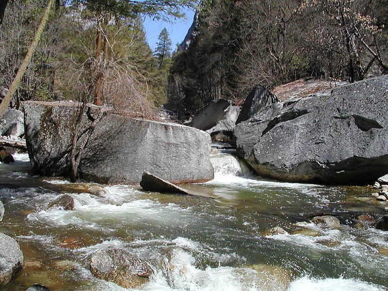 Rocky Tenaya Creek