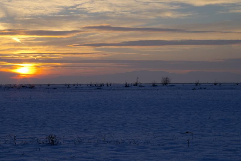 Bleak Midwinter Sunset