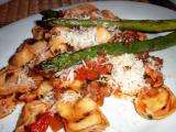 chicken balsamic with tortellini (recipe)