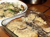 eggplant parmesan preparation