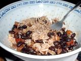 black bean chili and rice