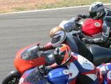 Bob in the middle on 250cc Aprilia
