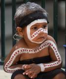 Little aboriginal girl