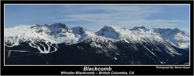 Whistler Blackcomb : Blackcomb
