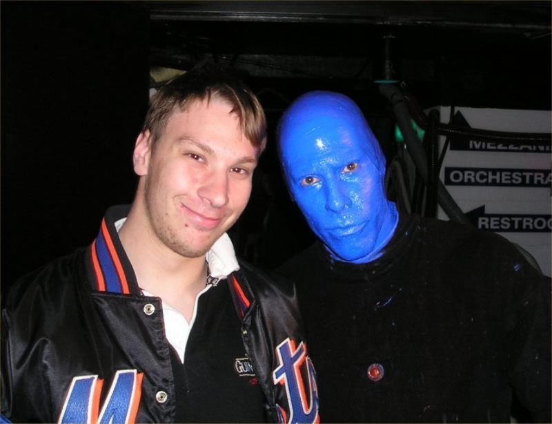 Bob and blue man