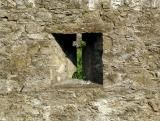Castle window at Cahir