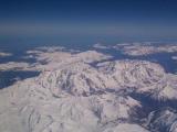 Italian side of Mt Blanc