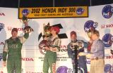 Paul Tracy , Mario Dominguez,  Patrick Carpentier ,  Peter Beatie ,