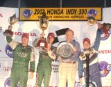 Paul Tracy , Mario Dominguez , Peter Beattie , Patrick Carpentier