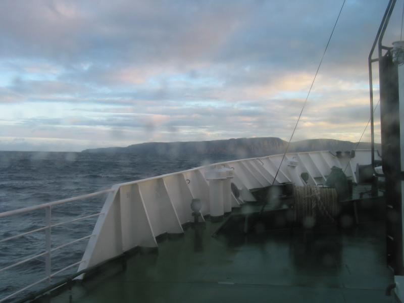 Clearing Sky  on the Greenland Cruise