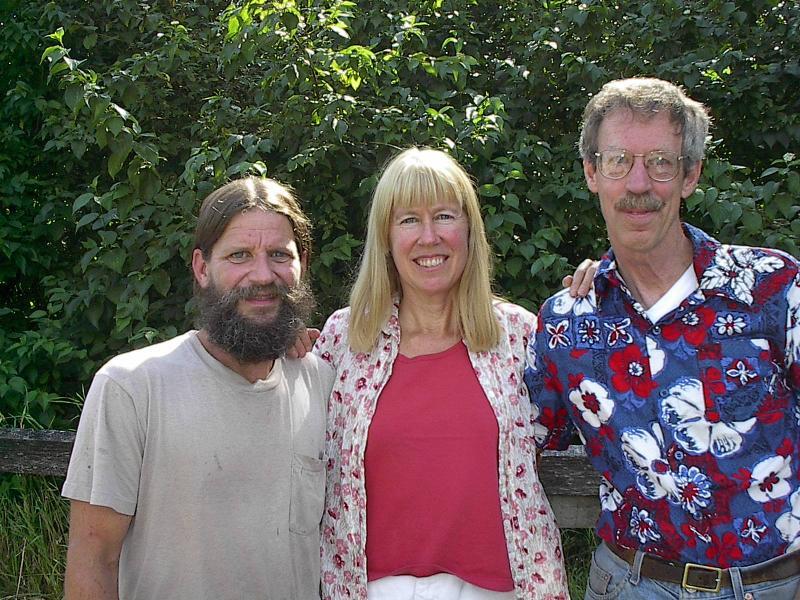 204 Tony Wright, Sarah Wilson, and Jeremy Kammerer.
