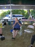 018 John Bogert from Orofino, OR. playing harmonica