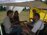 098 Charlie Hartness, Nancy Iremonger, Marla Streator, and John Flory