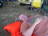 147 Jeanie takes a siesta.