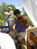 274 Rob Girdis on fiddle.