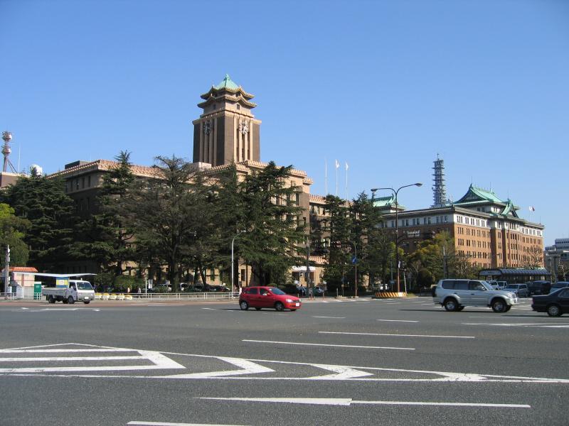 Nagoya City Hall and Aichi Prefectural Hall