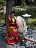 Geisha - Cal State Long Beach Japanese Gardens