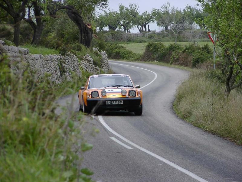 Great photo of a Porsche 914-6 GT race car