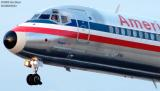 American Airlines MD-83 N592AA aviation stock photo