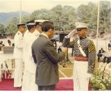 PMA Graduation with FVR 1993