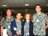 Mahalos to  Capt. Clyde, F/O Doug, Kekai, Jenny, Celeste & Jason for today's Marathon flight from PHX!