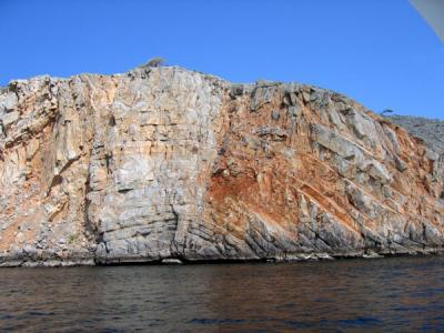 Gharam, part of a large island in the Gulf used by the Omani military