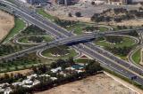 Wafi City Cloverleaf, E11 (Al Quta'eyat Rd) and E66 (Oud Metha Rd)
