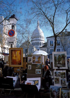 Sacre-Coeur from Montmartre