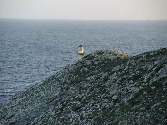 Cape Taenaron, foremost southeastern point in continental Europe