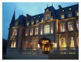 chateau at dawn