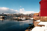 View from Tinganes Torshavn
