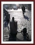 Solitary walk...