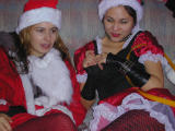 Tara and Mrs Claus