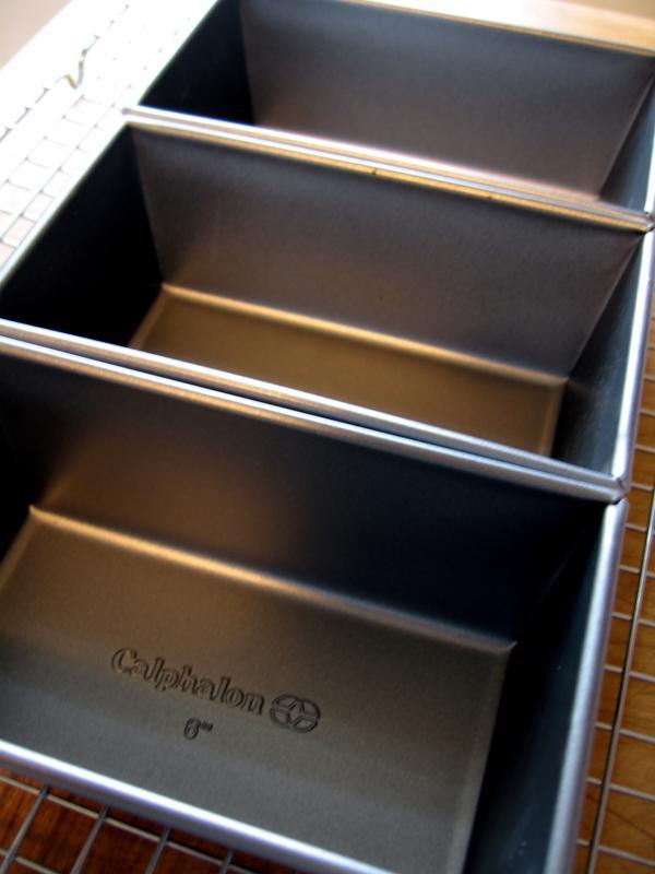 Three Mini Loaf Pans