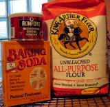 Baking Powder, Baking Soda & Flour