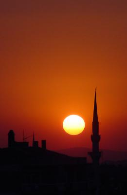 Sunset Camii (from my balcony)