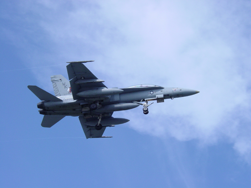 F18 Over Our House (Motion Challenge)