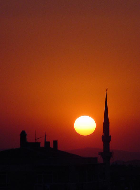 Sunset Camii (Circles Challenge)