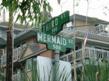 The bottom part is at Third Str. and Mermaid Str.