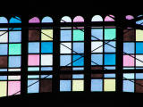 Colored Glass - Old Train Shed
