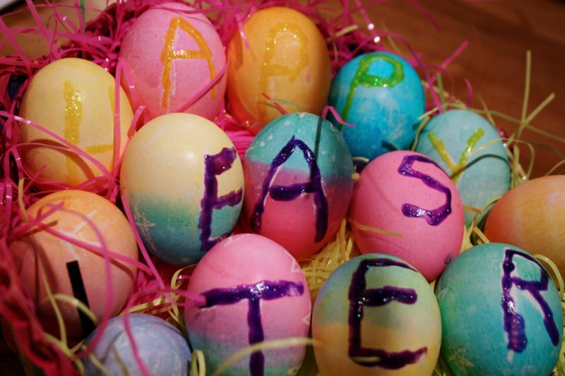 Eggs with Color