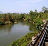 River Kwai seen from the bridge