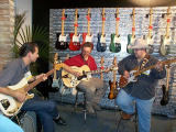 Dave Gonzales, Chris Fleming and Johnny Hiland