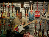 Me with the one of a kind Eric Clapton Strat