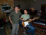 Me and Nuno trying out my 54