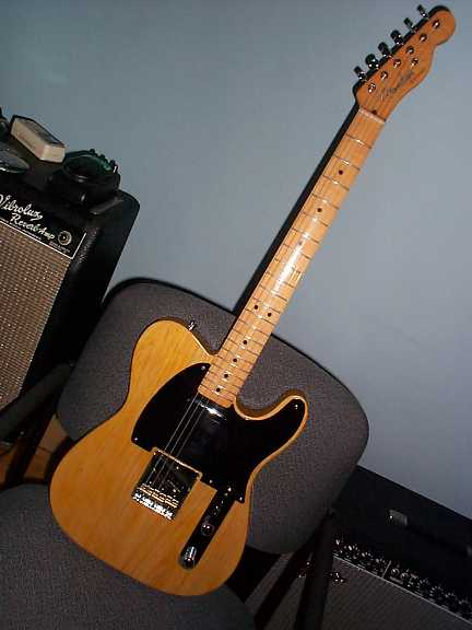 Home built 50s Telecaster Deluxe (sold)