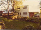 Home in Silver Spring, Maryland . . . complete with greenhouse. c1958-1978