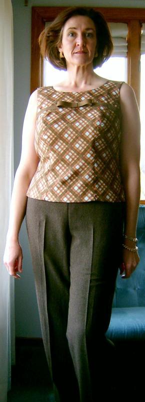 McCalls Top and Burda Pants