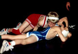 Using the half nelson to turn his opponent
